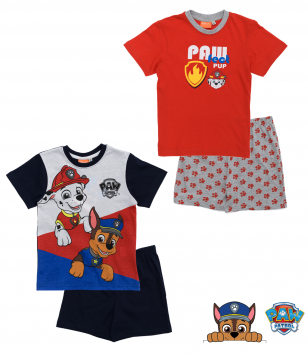 Paw Patrol - Short-sleeve pyjamas